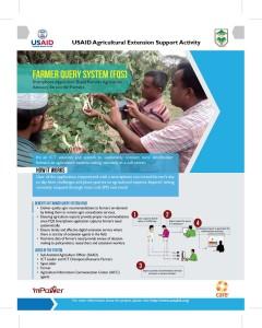 Farmer Query System Flyer