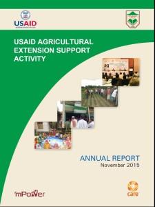 Annual Report 2015, 01 October 2014 - 30 September 2015
